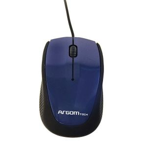Mouse USB MS-0014L Azul Argom