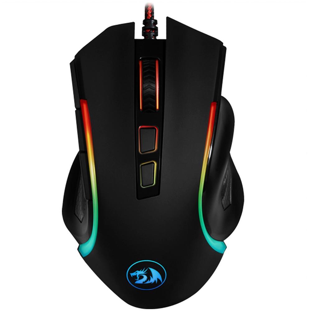 Mouse Gamer USB Griffin Preto - Redragon