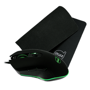 Kit Gamer Mouse + Mouse Pad Death Fire - DAZZ