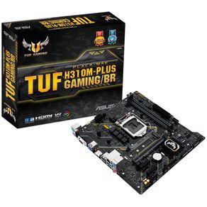 Placa Mae mATX para Intel LGA 1151 9/8G DDR4 TUF H310M-Plus Gaming Asus