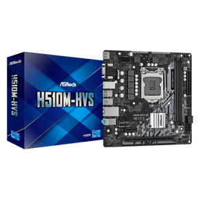 Placa Mae Micro ATX para Intel 1200 10G H510M-HVS Asrock