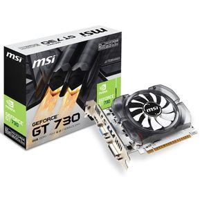 Placa de Video GeForce GT730 2GB DDR3 MSI
