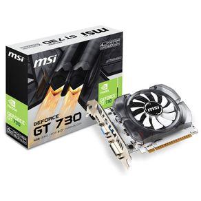 Placa de Video GeForce GT 730 4GB DDR3  MSI