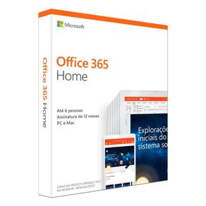 Software Microsoft 365 Home  2019 32/64 Bits  PC/MAC - Microsoft