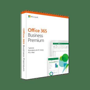 Software Office Business Premium 2019 32/64 Bits PC/MAC 5 PC`s Microsoft