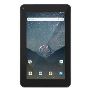 """Tablet M7S GO 7"""" WiFi Android 8.1 16GB Cam 1.3MP Quad-Core Preto NB316 Multilaser"""