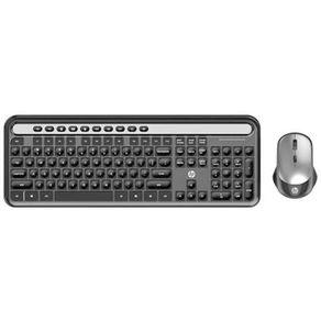 Kit Teclado e Mouse Sem Fio Desktop ABNT2 CS500 HP