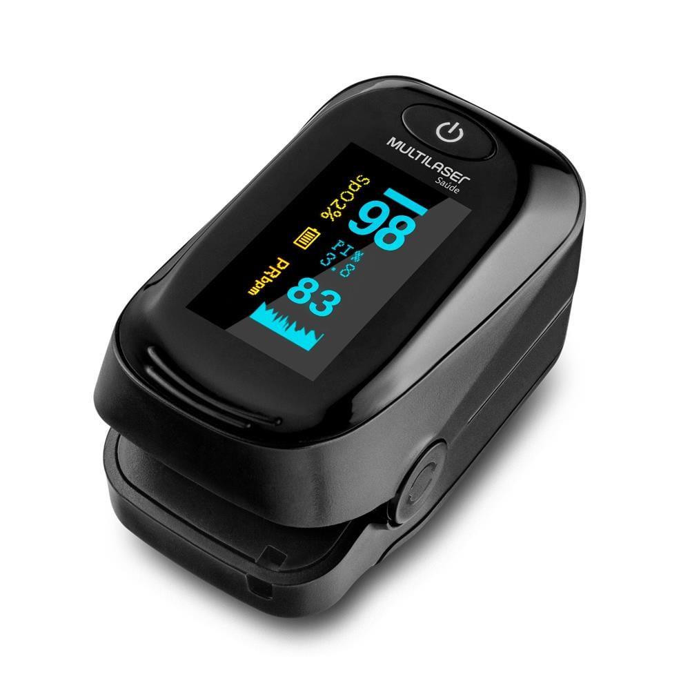 Oximetro Digital de Pulso HC261 Preto Multilaser