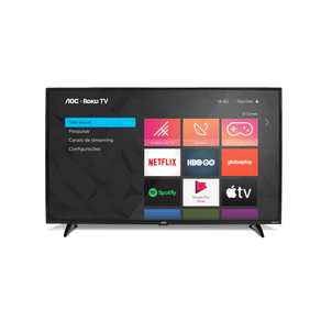 "Smart TV LED 32"" HD Roku WiFi HDMI USB 32S5195/78G Aoc"