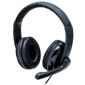 Fone de ouvido Headset com fio Pro PH317 Preto Multilaser