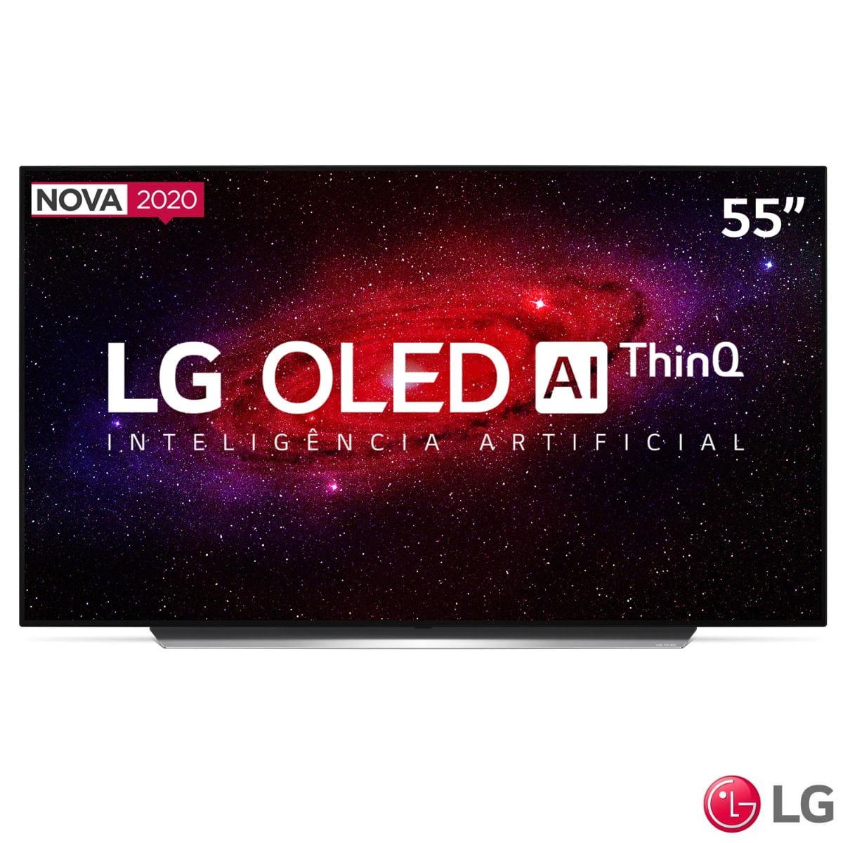 Smart TV OLED 65'' UHD 4K BT ThinQ AI Google Alexa OLED65CXPSA LG