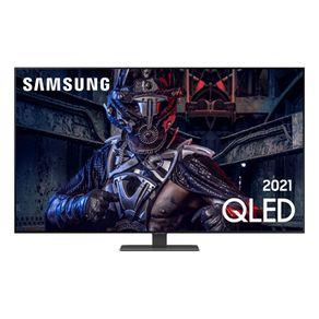 """Samsung Smart TV 65"""" QLED 65Q80A 4K, Modo Game, Processador IA, Som em Movimento, Tela sem limites, Visual livre de cabos, Alexa built in"""