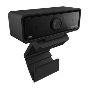 Webcam Cam-720P HD 720P USB Preta Intelbras