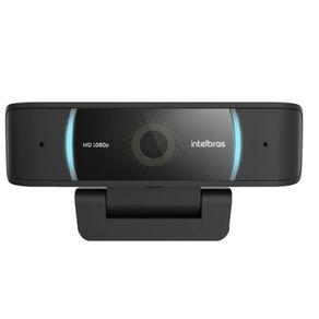 Webcam Cam-1080P FHD USB Preta Intelbras