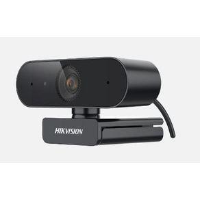 Webcam FULL HD 1080P USB DS-U02 Preta Hikvision