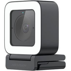 Webcam FULL HD 1080P Live USB DS-UL2 Preta Hikvision