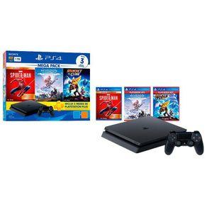Console PlayStation 4 Slim 1TB Mega Pack V15 - Sony