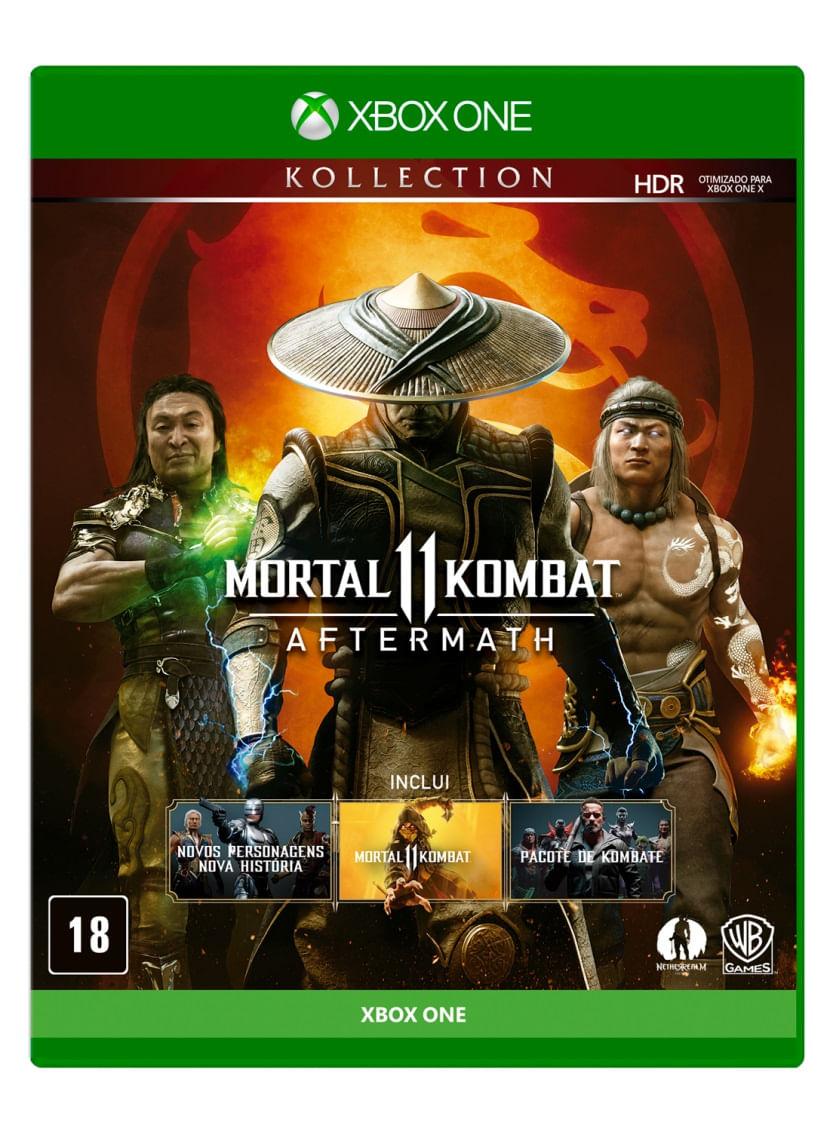 Jogo para Xbox One Mortal Kombat 11: Aftermath - Warner
