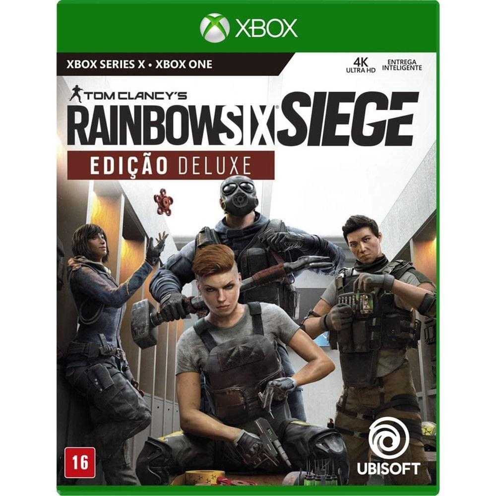 Jogo para Xbox One e Xbox Series Tom Clancy's Rainbow Six Siege Definitive Edition - Ubisoft