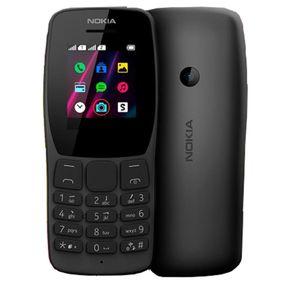 """Celular Nokia 110 NK006 Dual Tela 1,77"""" Preto"""