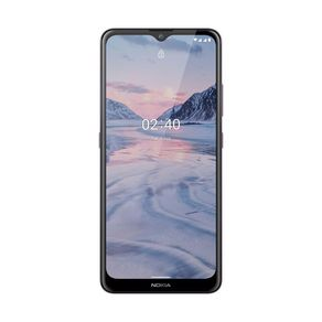 """Smartphone Nokia 2.4 NK016 4G Dual Android 11 64GB Cam 13mp + 2mp 6.5"""" Roxo"""
