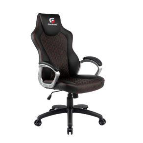 Cadeira Gamer Blackfire Preta/Vermelha - Fortrek