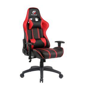 Cadeira Gamer Black Hawk Preta/Vermelha - Fortrek