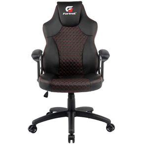 Cadeira Gamer Holt Preta/Vermelha - Fortrek