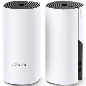 Roteador Wireless AC 1200Mbps Sist Mesh Deco E4 Kit 2 Unidades TP - Link