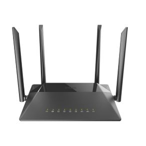 Roteador Wireless AC 1200Mbps Dual Band Gigabit WAN/LAN DIR-842 D-Link