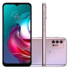 """Smartphone Moto G30 Android 11 128GB Cam Tripla 64MP+8MP+2MP+2MP Cam Frontal 13MP Octa-Core Tela 6,5"""" Branco Motorola"""