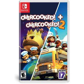 Jogo para Nintendo Switch Overcooked + Overcooked 2 Team 17
