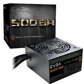 Fonte ATX 500W 80 Plus Bronze 100-BR-0500-K1 EVGA