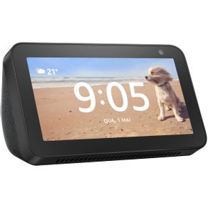 Dispositivo Smart Home Echo Show 5 Alexa Preto Amazon