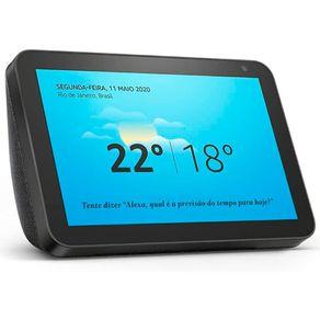 Dispositivo Smart Home Echo Show 8 Alexa Preto Amazon