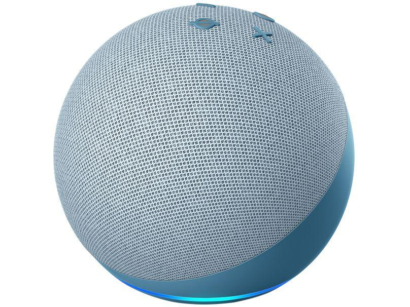 Dispositivo Smart Home Echo Dot 4G Alexa Azul Amazon