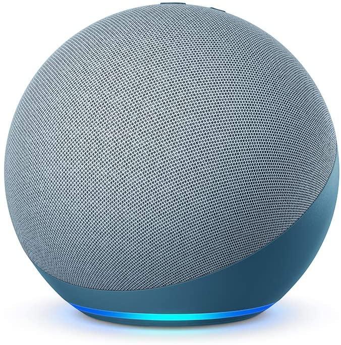 Dispositivo Smart Home Echo 4G Alexa Azul Amazon