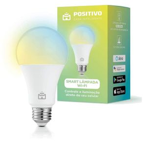 Smart Lampada Wi-Fi Positivo