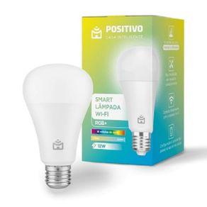 Smart Lampada Wi-Fi RGB Positivo