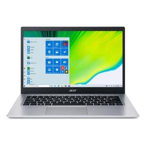 "Notebook Aspire A5 I5 1.0Ghz 8GB 512GB SSD 14"" Windows 10 Prata Acer"