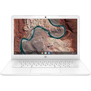 "Notebook Chromebook AMD A4 1.6 4GB 64MMC 14"" ChromeOS Branco HP"