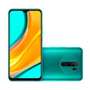 Smartphone Redmi 9 Dual 4G Android 10 64GB Cam Quadrupla 13MP+8MP+5MP+2MP Frontal 8MP Tela 6.53
