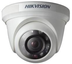 Camera Interna DS-2CE56C0T-IRPF HD 720P 2.8MM / 90� / 20M Branco Hikvision
