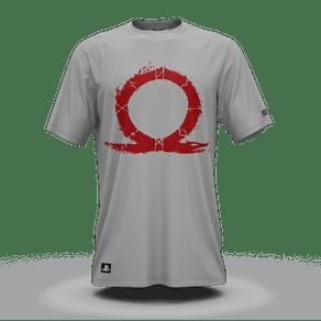 Camiseta God Of War Omega Cinza (P) Banana Geek