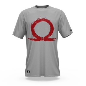 Camiseta God Of War Omega Cinza (M) Banana Geek