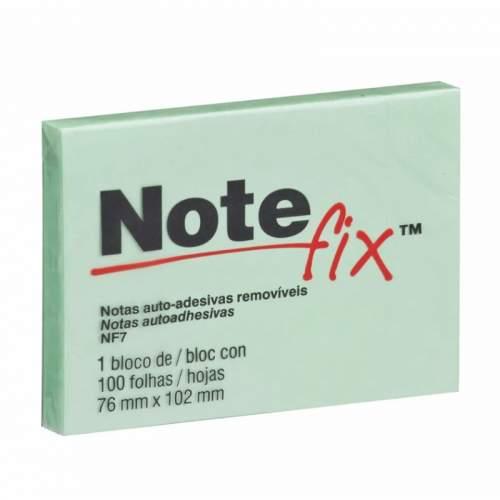 Bloco de Papel 76X102 Grande 100 Folhas Verde Notefix