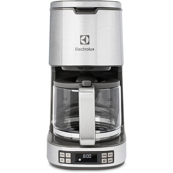 Cafeteira Expressionist Display LCD Programavel 30 Xicaras CMP50 Electrolux