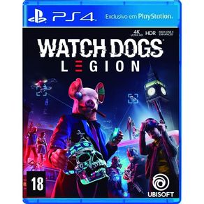 Jogo para PS4 Watch Dogs Legion Gold Edition - Ubisoft