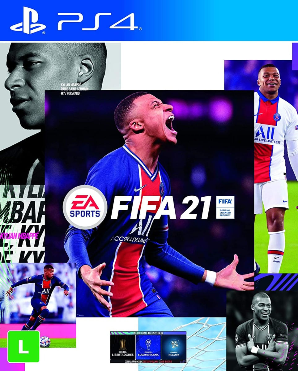 Jogo para PS4 FIFA 21 - EA