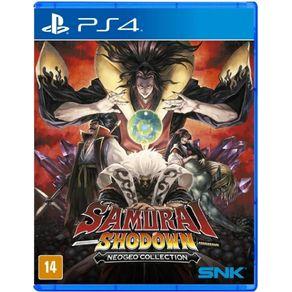 Jogo para PS4 Samurai Shodown Neo Geo Collection